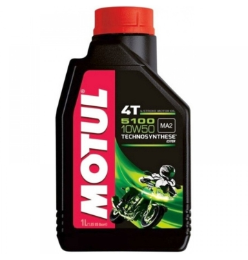 MOTUL двигателно масло 5100 10W50 4T 1L полу-синтетично