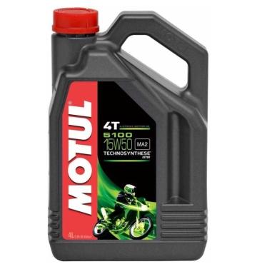 MOTUL двигателно масло 5100 15W50 4T 4L полу-синтетично
