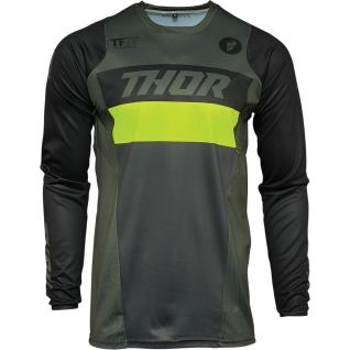 тениска Thor Pulse Racer MX 2021 Army