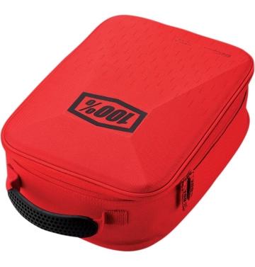 Чанта / калъф за кросови очила 100 % Case Red/Black