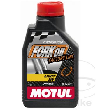 MOTUL масло за предница / вилка 5W LIGHT FACTORY 1L 100% синтетично