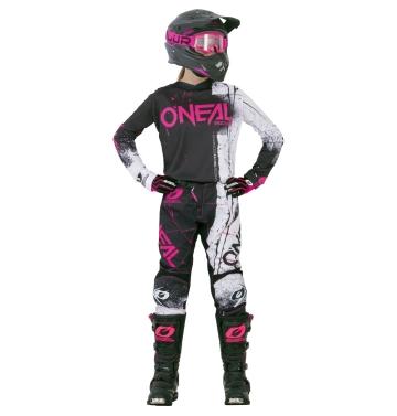 Tениска - дамска O'Neal Element Shred Pink
