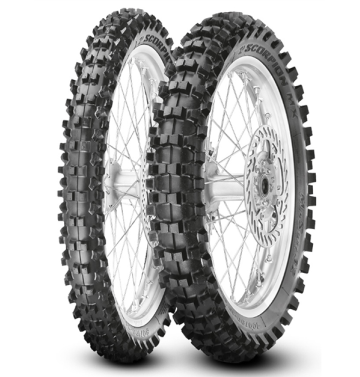 PIRELLI 110/90-19 NHS 62M SCORPION MX32 MID SOFT