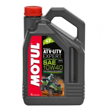 MOTUL двигателно масло ATV/UTV EXPERT 10W40 4T 4L полу-синтетично
