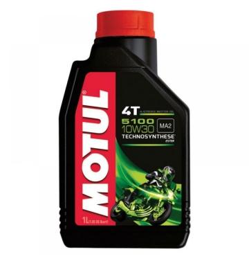 MOTUL двигателно масло 5100 10W30 4T 1L полу-синтетично