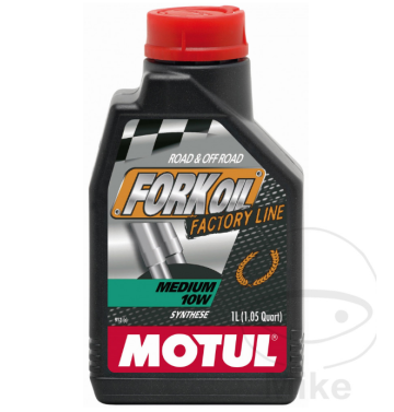 MOTUL масло за предница / вилка 10W 1L SYNTHETIC MED FACTORY LINE
