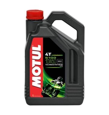 MOTUL двигателно масло 5100 10W50 4T 4L полу-синтетично