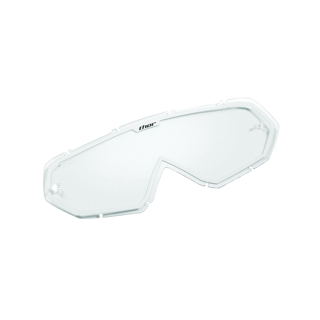 Плака за кросови очила Thor Lens Goggle Thor CLR WHT