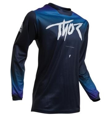 Тениска - дамска Thor Pulse Fader Midnight