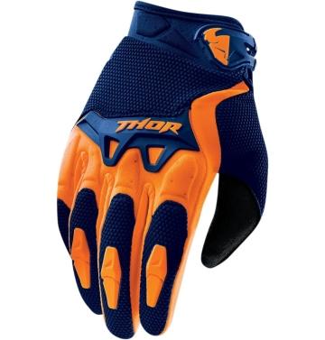 Текстилни кросови ръкавици - детски Thor S6Y Spectrum
