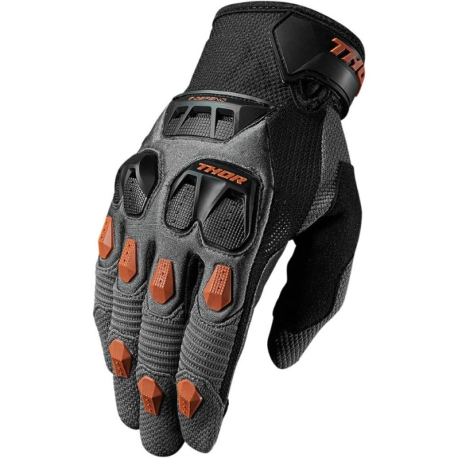 Текстилно / кожени мото ръкавици Thor S7 Defend
