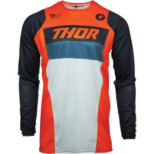 тениска Thor Pulse Racer MX 2021 оранжево
