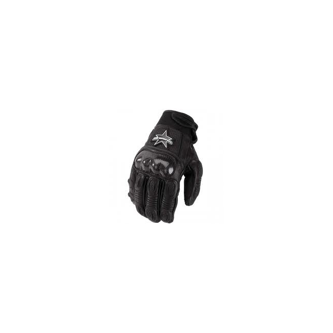 Кожени мото ръкавици Icon Merc Short