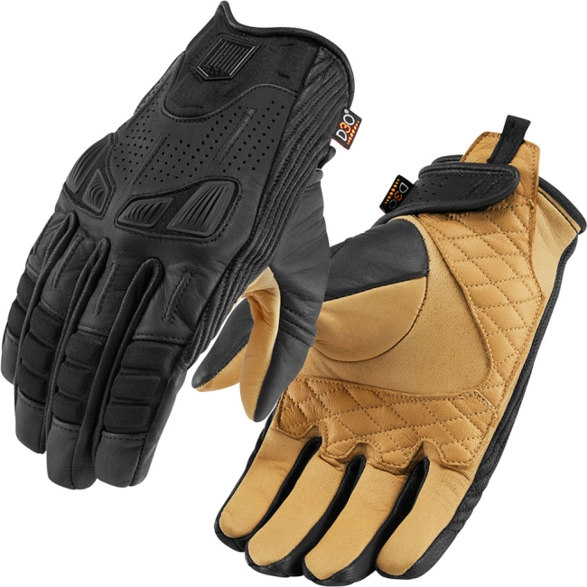 Кожени мото ръкавици Icon 1000 Axys