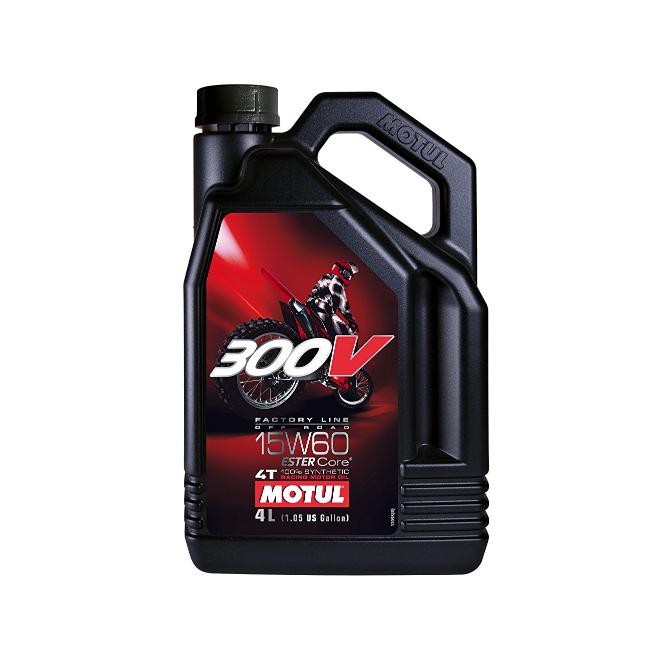 MOTUL двигателно масло 300V Factory line Ofrroad 15W60 4L синтетично
