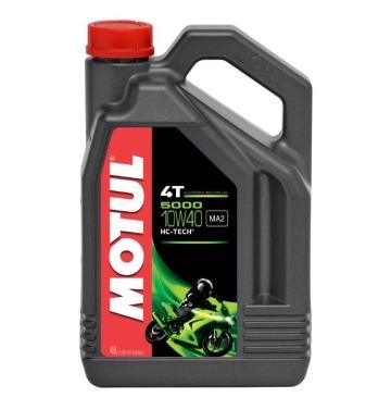 MOTUL двигателно масло 5000 10W40 4T 4L полу-синтетично