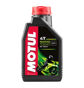 MOTUL двигателно масло 5000 10W40 4T 1L полу-синтетично