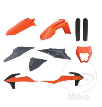 Polisport пълен комплект пластмаси / спойлери за KTM