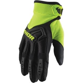 Текстилни кросови ръкавици Thor Spectrum  S20 2021 зелено