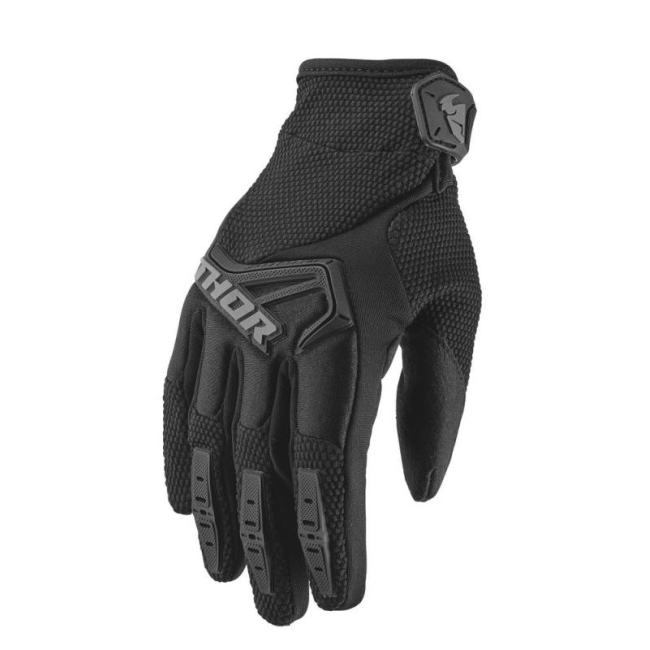 Текстилни кросови ръкавици Thor S20 Spectrum 2021 черни
