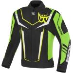 Текстилно мото яке Berik Radic Evo Plus черно/жълто/зелено